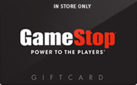 Buy GameStop (In Store Only) Gift Card