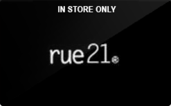 Sell rue21 (In Store Only) Gift Card