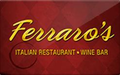 Sell Ferraro's Las Vegas Gift Card