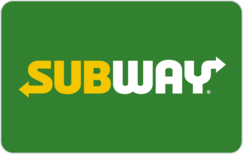 Buy Subway Gift Card