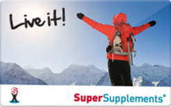 Sell Super Supplements Gift Card