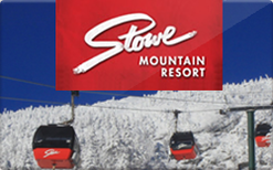 Buy Stowe Mountain Resort Gift Card