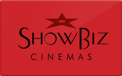 Buy ShowBiz Cinemas Gift Card