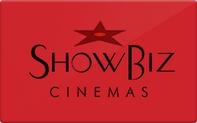 Buy ShowBiz Cinemas Gift Card