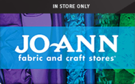 Buy Jo Ann Fabrics (In Store Only) Gift Card