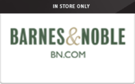 Buy Barnes & Noble (In Store Only) Gift Card