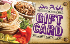 Sell Don Pablo's Gift Card