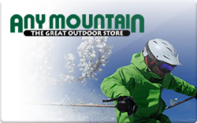 Buy Any Mountain Gift Card
