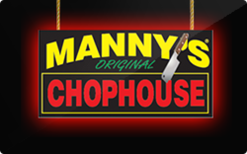 Sell Manny's Chophouse Gift Card