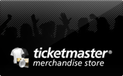 Sell Ticketmaster Merchandise Store Gift Card