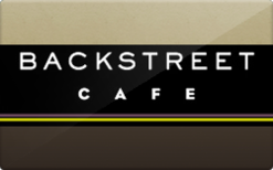 Buy Backstreet Cafe Gift Card