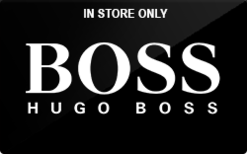Buy Hugo Boss (In Store Only) Gift Card