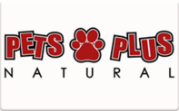 Buy Pets Plus Natural Gift Card