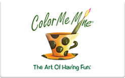 Buy Color Me Mine Gift Card