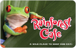 Buy Rainforest Cafe Gift Card