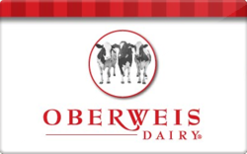 Sell Oberweis Dairy Gift Card