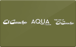 Buy El Gaucho Gift Card