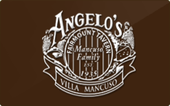 Sell Angelo's Fairmount Tavern Gift Card