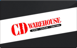Buy CD Warehouse Gift Card