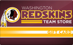 Sell Washington Redskins Store Gift Card