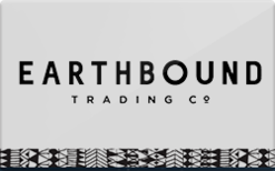 Earthbound Trading Gift Card - Check Your Balance Online | Raise.com