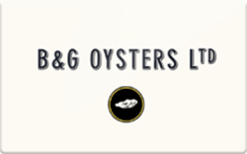 Sell B&G Oysters Gift Card