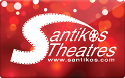 Sell Santikos Theatres Gift Card