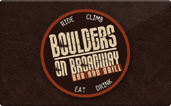Sell Boulders on Broadway Gift Card