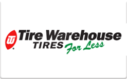 Sell Tire Warehouse Gift Card