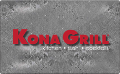 Buy Kona Grill Gift Card