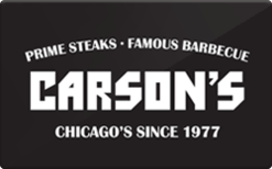 Sell Carson's Ribs Gift Card