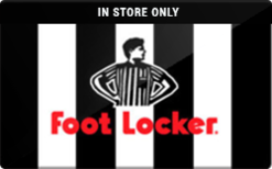 Sell Foot Locker (In Store Only) Gift Card