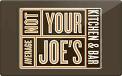 Sell Not Your Average Joe's Gift Card