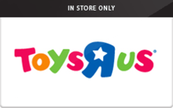 "Sell Toys""R""Us (In Store Only) Gift Card"