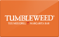 Buy Tumbleweed Tex Mex Grill Gift Card