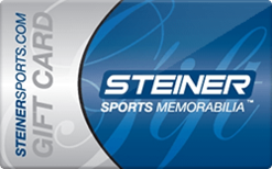 Sell Steiner Sports Memorabilia Gift Card