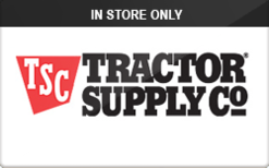 Buy Tractor Supply Company (In Store Only) Gift Card