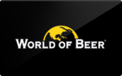 Sell World of Beer Gift Card