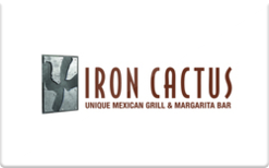Sell Iron Cactus Mexican Grill Gift Card