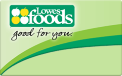 Lowes Foods Gift Card - Check Your Balance Online | Raise.com