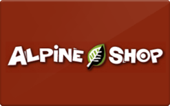 Buy Alpine Shop Gift Card