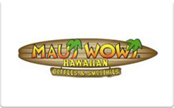 Sell Maui Wowi Gift Card