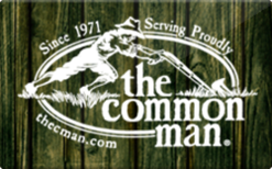 Buy The Common Man Gift Card