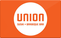 Sell Union Sushi + Barbeque Bar Gift Card