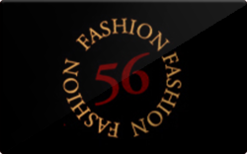 Sell 56 Fashion Gift Card