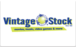 Sell Vintage Stock Gift Card