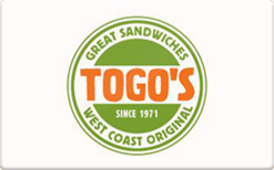 Sell Togo's Gift Card