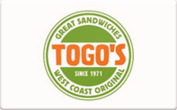 Buy Togo's Gift Card