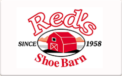 Sell Red's Shoe Barn Gift Card