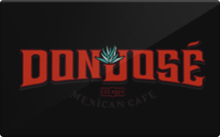Sell Don Jose Mexican Cafe Gift Card